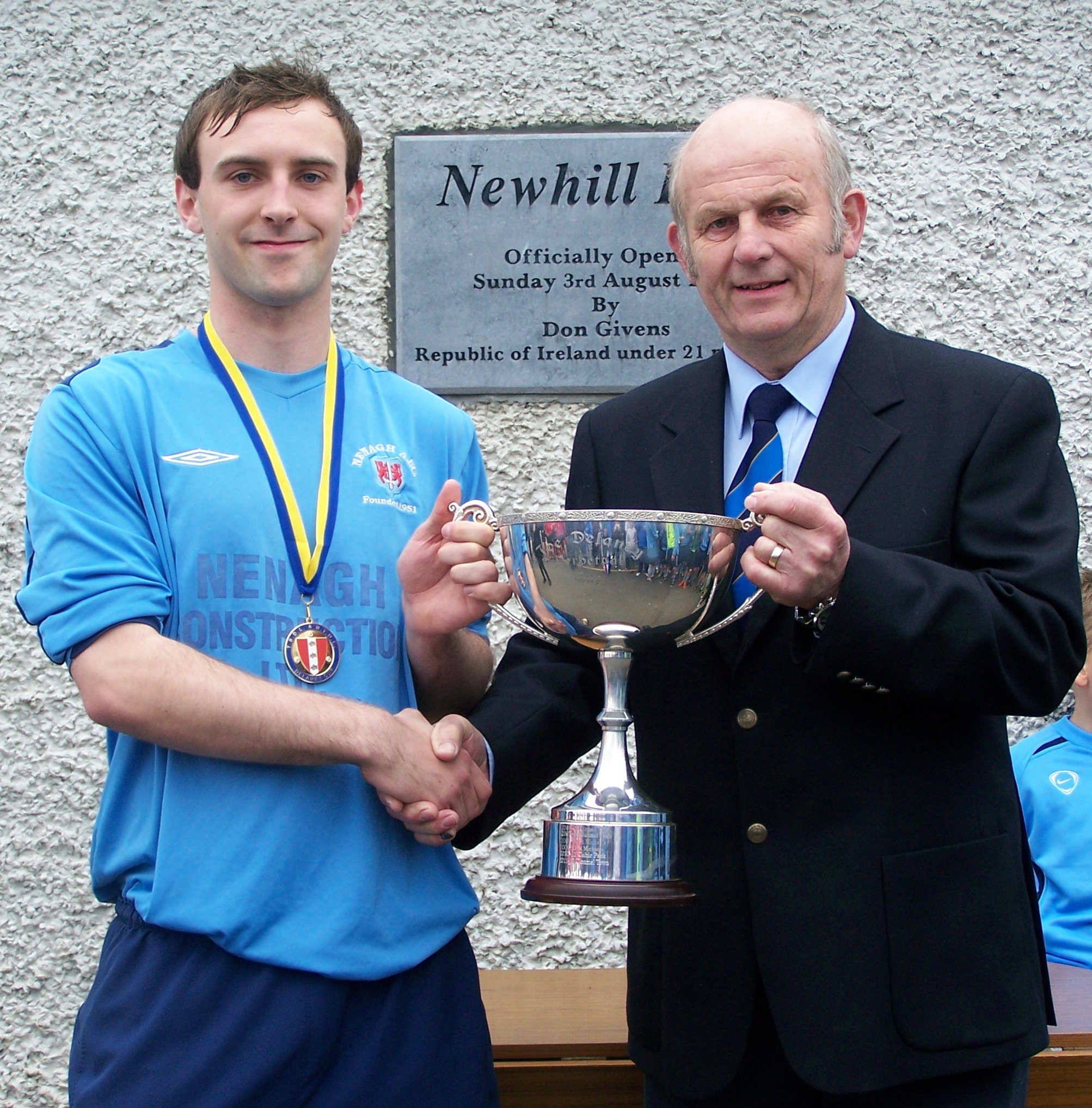Joe Delaney Cup Presentation